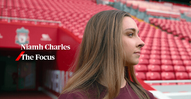 Niamh Charles, The Focus
