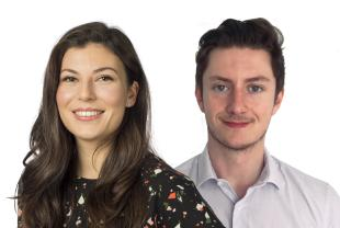 Sophie Bonnel and Jonathon Murphy, AXA UK Public Affairs