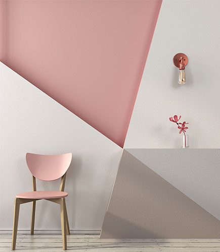 geometric wall design