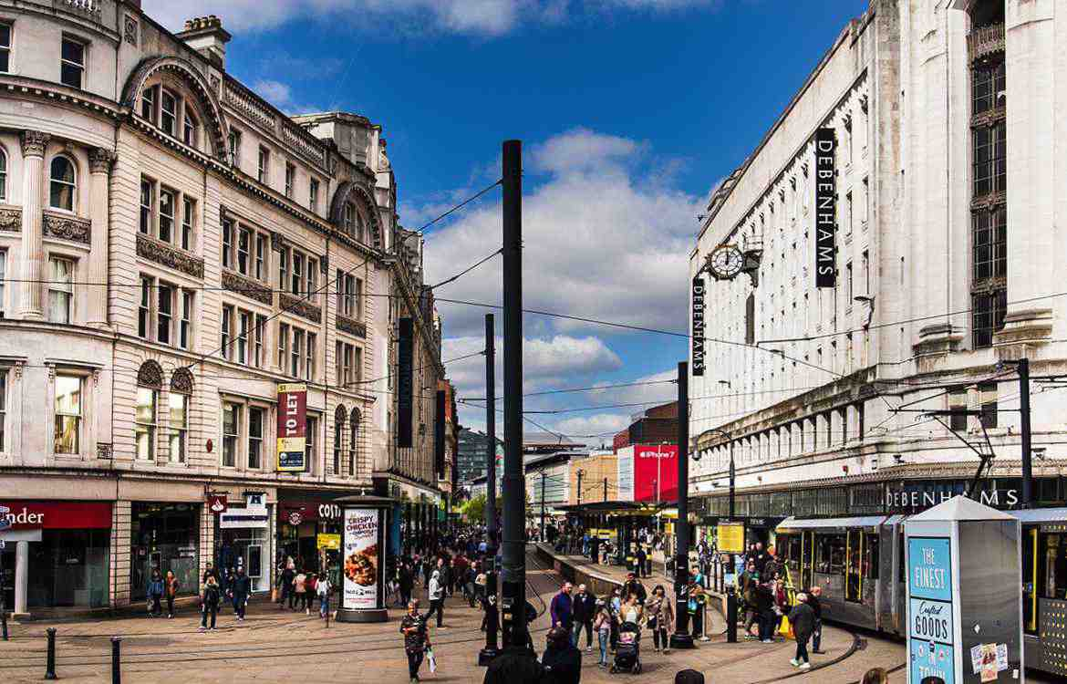 Changing Manchester Retail shops