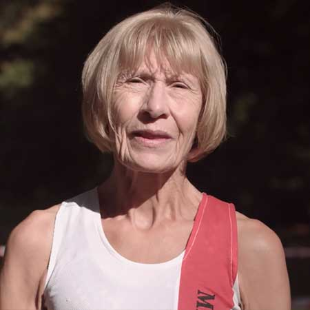 71 year old marathon runner