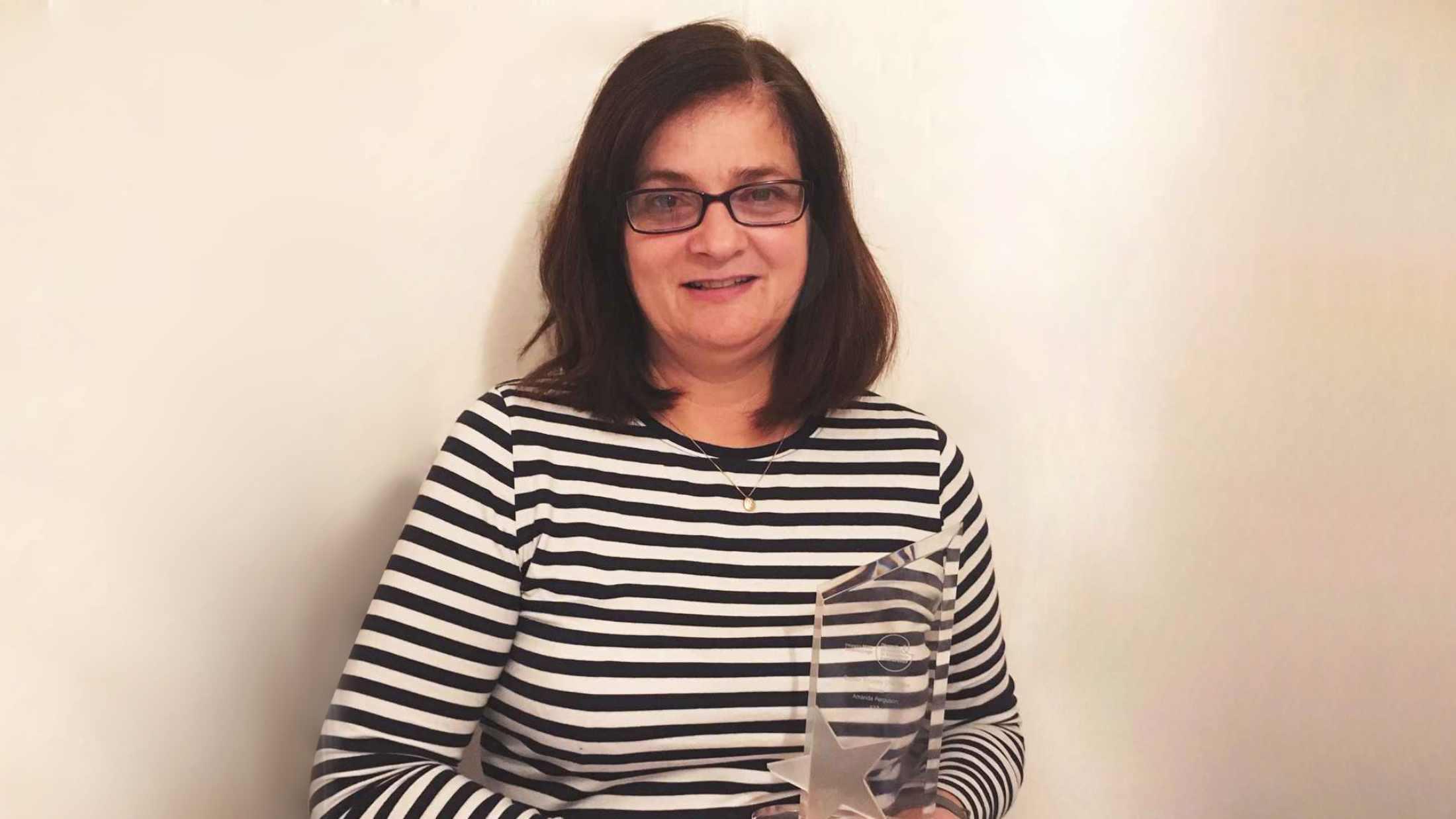 Amanda Ferguson, Chair of AXA UK's Gender Equality Employee Resource Group
