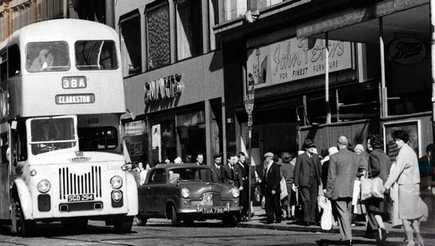 How has Glasgow high street changed?