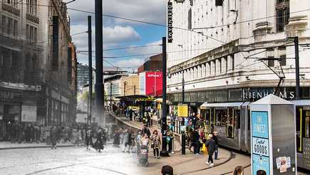 Has Manchester high street changed?