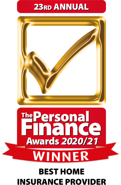 Personal Finance Awards Best Home Insurance Provider 2020-21