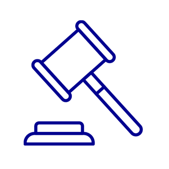 legal blue icon